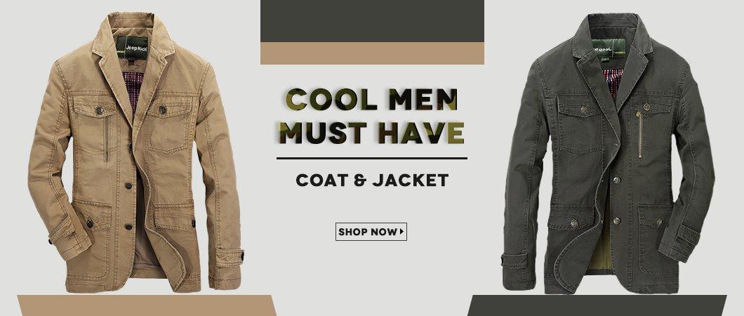 Men's Coat and Jacket