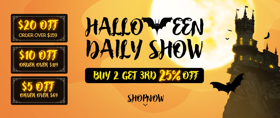 Halloween daily show