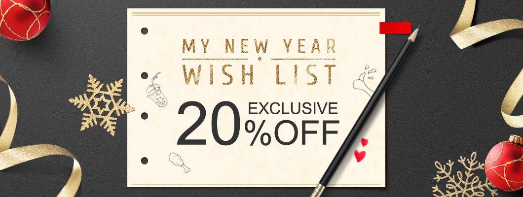 My New Year Wish List