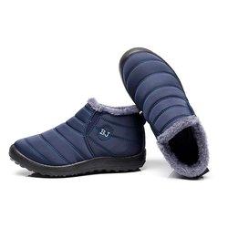 Waterproof Cloth Winter Slip On Boots