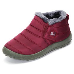 Women's Warm Fur Ankle Slip-On Boots