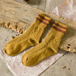 Stripes Sheath Casual Women Socks
