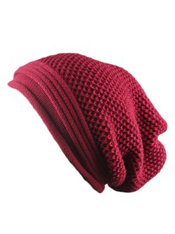 Solid Knitted Casual Hat