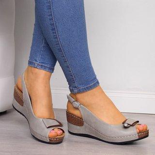 Justfashionnow Sandals Peep Toe Casual