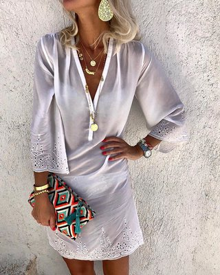 available info for online shop V Neck Daytime Solid Maxi Dresses