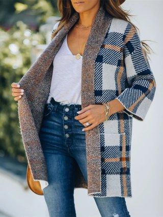 Checkered Winter Coat by Tamara Bellis