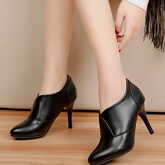 Women PU High Heel Sandals Casual Comfort Shoes