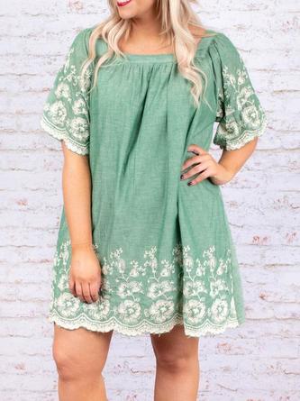 1484032446fd7 Square Neck Modest Dresses - Shop Online | JustFashionNow