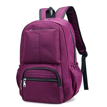 Women Nylon Waterproof Large Capacity Mummy Bags Travel Backpack