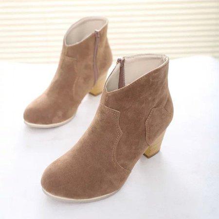 Sexy Ladies High Heels Ankle Boots For Women