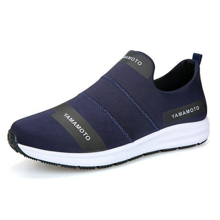 Men Breathable Slip On Soft Loafers Casual Sneakers