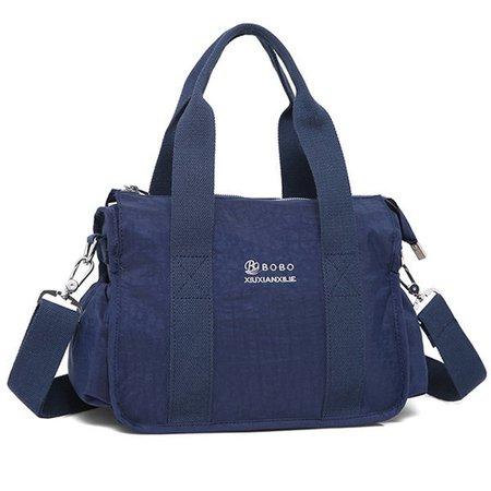Women Waterproof Nylon Tote Hobos Bag Crossbody Bag