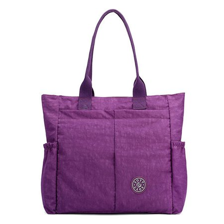 Women Nylon Lightweight Handbag Large Capacity Shoulder Bags