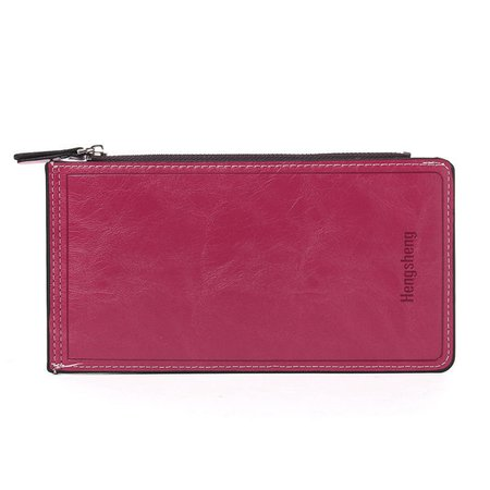 Women Candy Color Large Capacity Cards Bags Casual Casual Purse