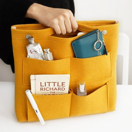 Multi-pockets Storage Casual Travel Bag Liner Package Tote Cosmetic Bag
