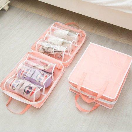 Nylon Waterproof Casual Lightweight Shoes Storage Bag Travel Bags