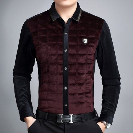 Casual Long Sleeve Buttoned Cotton Shirt