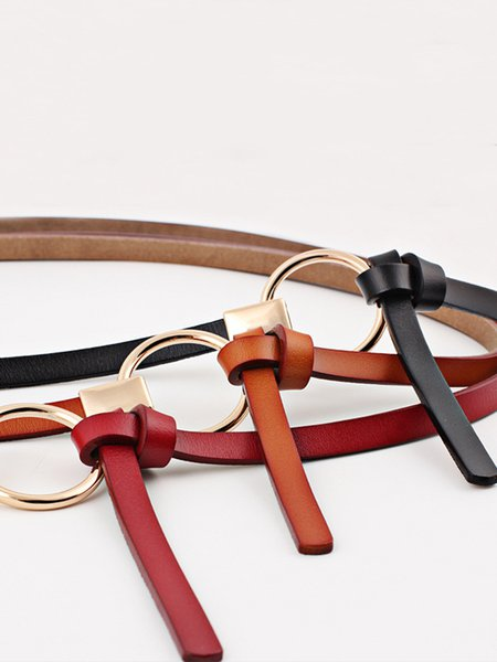 Genuine leather Vintage Cowhide Belts Casual Fashionable Design Waistband Strap