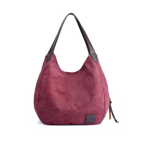 Three Layer Tote Bag Casual Handbag Shoulder Bag