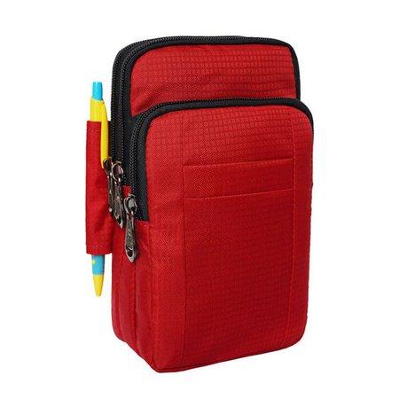 Unisex Waterproof Nylon 7''PC  Outdoor Sport Shoulder Crossbody Bag Waist Bag