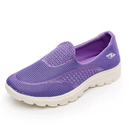 Breathable Non Slip Platform Slip On Sneakers