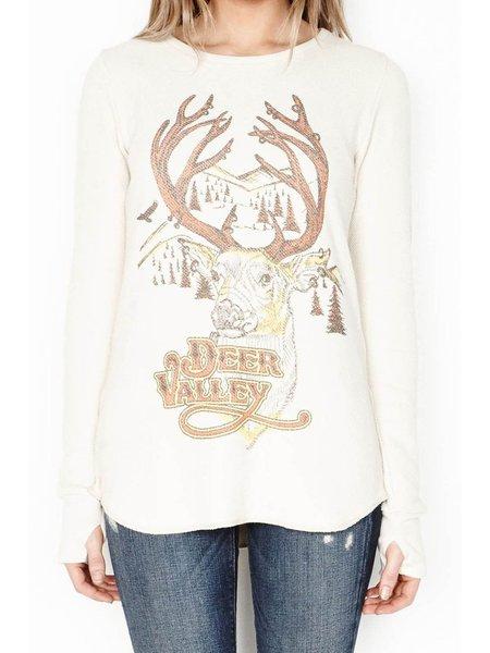 Beige Long Sleeve Animal Print Casual Sweatshirt