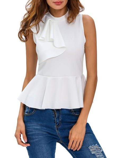 Made For This Elegant Ruffled Tank