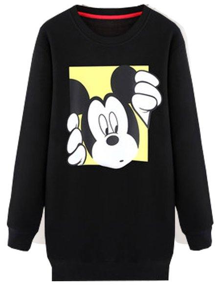 Long Sleeve Animal Cute Sweatshirt