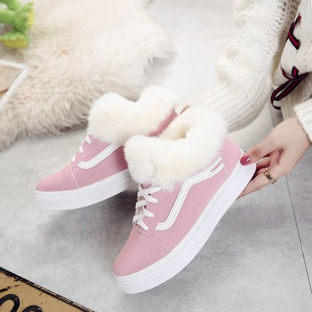 Flurry Athletic Platform Lace-up Sneakers