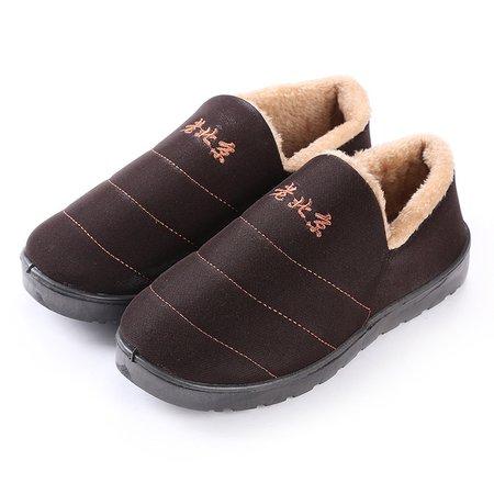 Non Slip Casual Slip On Fleece Lined Boots