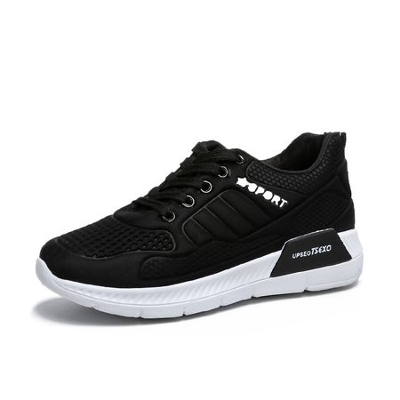 Flat Heel All Season Sport PU Split Joint Sneakers