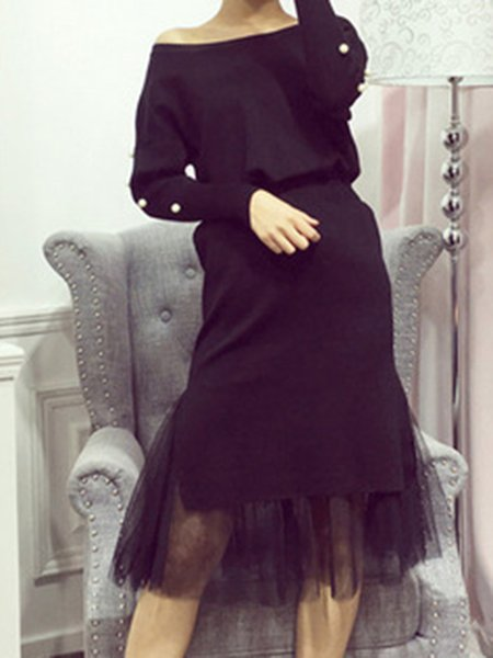 Knitted Casual Two Piece Cotton Long Sleeve Women's Co-ord
