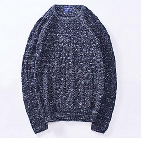 Crew Neck Sleeveless Casual Acrylic Sweaters