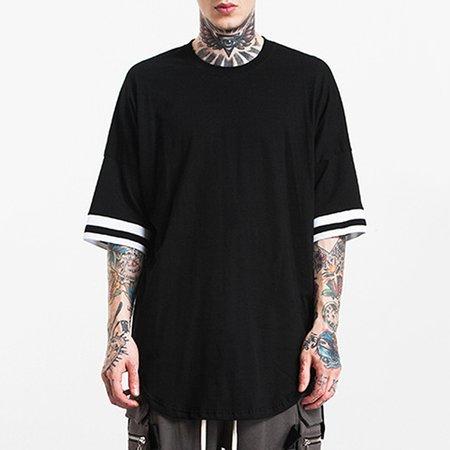 Crew Neck Cotton Casual Short Sleeve T-shirt