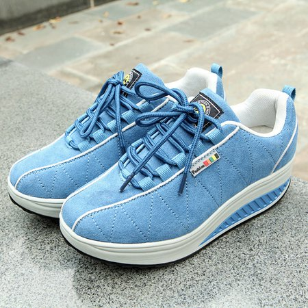 Women Athletic Lace-up Winter Sneakers