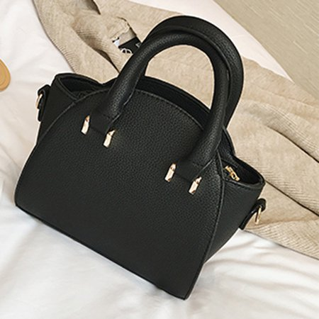 Women Lichee Pattern Casual Handbag Crossbody Bag