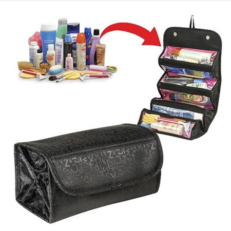 Casual 600D Oxford High Capacity Small Volume Storage Bag Folding Cosmetic Bag
