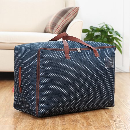 Casual High Capacity Waterproof Cotton Quilt Bag Lightweight Storage Bag
