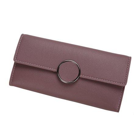Ladies Elegant PU Purse Purse Card Holder Wallet