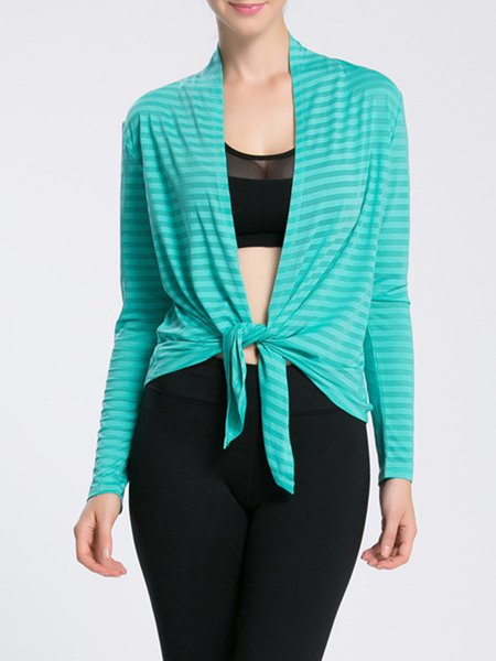 Cotton-blend Sports Solid Shirts & Blouse