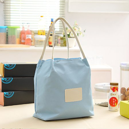 Candy Color Casual Oxford Lunch Box Bag Shopping Storage Bag