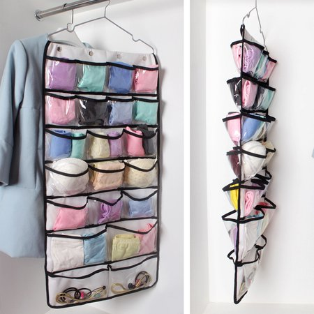 Casual 42 Pockets Multifunctional Casual Clothes Storage Bag