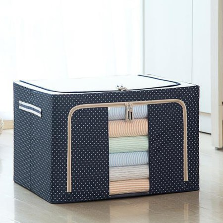 Casual Oxford Large Capacity Cotton Quilt Clothes Storage Bag