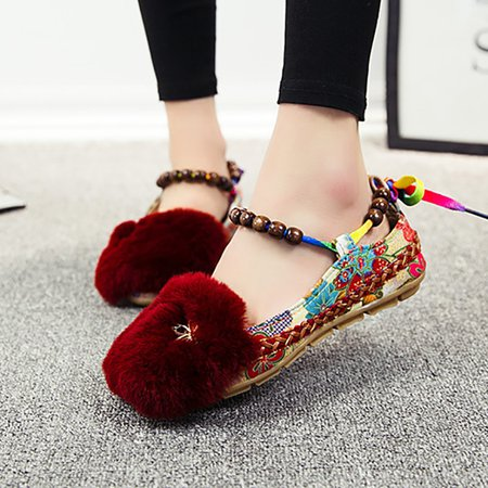 Large Size Flurry Casual Beading Sandals