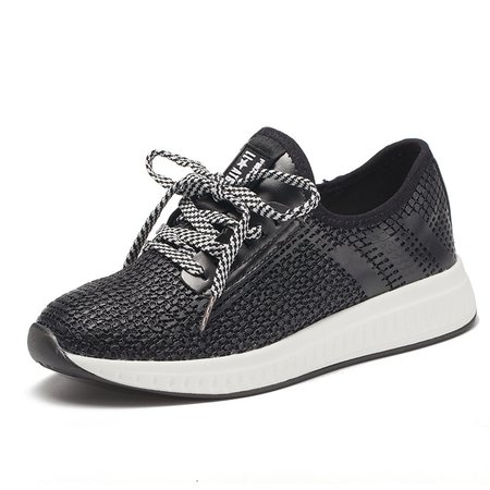 PU Outdoor Lace-up Slip-on Sneakers