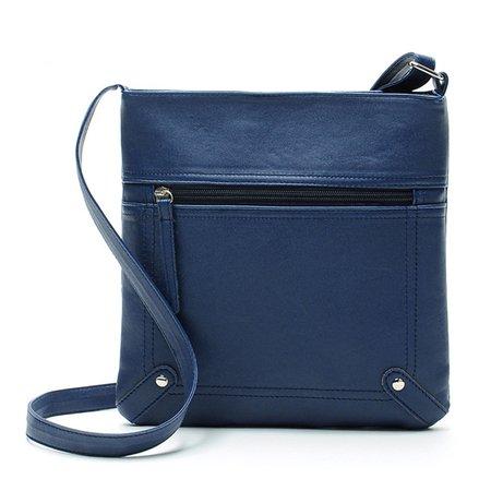 Women Elegant PU Leather Vintage Casual Crossbody Bag