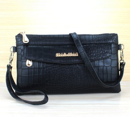 PU Leather Chic Alligator Pattern Clutches Wallet