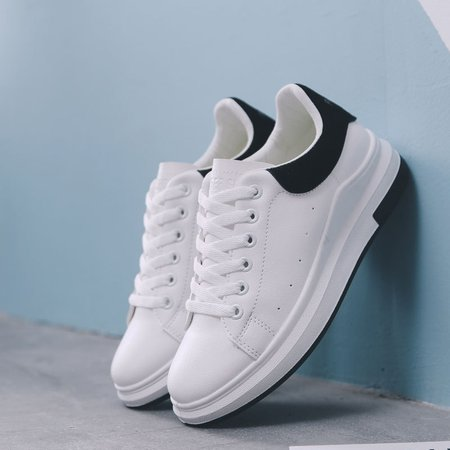 Lace-up PU Casual Platform Sneakers