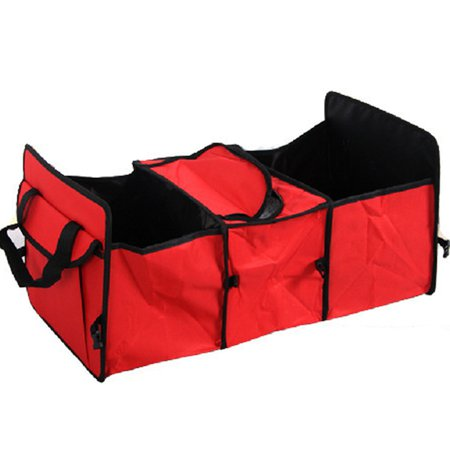 Large Capacity Multi-functional Folding Car Storage Bag Car Boot Carriage Handbag