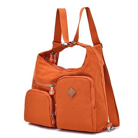 Waterproof Oxford Mutifunctional Backpack Multi-slots Shoulder Bag For Women
